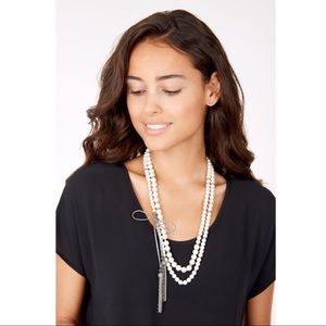 Stella & Dot Mara Pearl Necklace